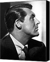 1946 Movies Canvas Prints - Notorious, Cary Grant, 1946 Canvas Print by Everett