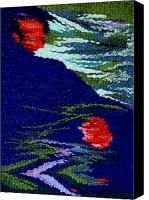 Impressionism Tapestries - Textiles Canvas Prints - Nurturing Canvas Print by Aneesha Parrone