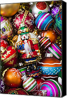 Xmas Canvas Prints - Nutcraker ornament Canvas Print by Garry Gay