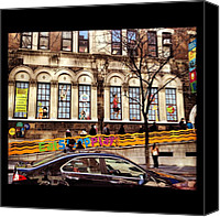 Children Photo Canvas Prints - #nyc #children Canvas Print by Asaf S