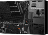 Nyc Photo Canvas Prints - NYC from the Top 1 Canvas Print by Irina  March
