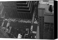 Nyc Photo Canvas Prints - NYC from the Top Canvas Print by Irina  March
