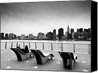 Nyc Photo Canvas Prints - NYC Relax Canvas Print by Nina Papiorek