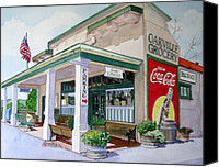 Valley Canvas Prints - Oakville Grocery Canvas Print by Gail Chandler