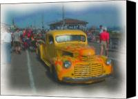 Kevin Sherf Canvas Prints - Ocean City Hot Rod Canvas Print by Kevin  Sherf