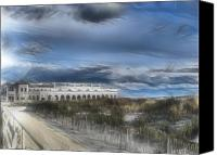 Kevin Sherf Canvas Prints - Ocean City MusicPier I Wuz There Canvas Print by Kevin  Sherf