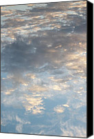 Day Lillies Photo Canvas Prints - Ocean Sky II Canvas Print by Russ Bertlow