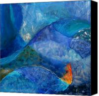 Ocean  Canvas Prints - Oceans lullaby Canvas Print by Aliza Souleyeva-Alexander