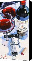 Cakebread Canvas Prints - Octagon Canvas Print by Christopher Mize