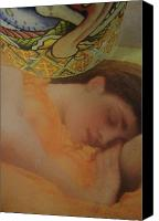 Flaming June Canvas Prints - Ode to Flaming June Canvas Print by WaLdEmAr BoRrErO