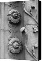 Architectural Detail Canvas Prints - Ode to Julia Morgan - Architectural Detail II Canvas Print by Suzanne Gaff