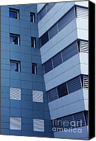 Finance Canvas Prints - Office Building Canvas Print by Carlos Caetano
