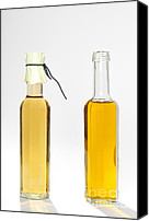 Olive Oil Canvas Prints - Oil and vinegar bottles Canvas Print by Matthias Hauser