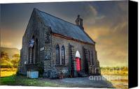 Church Photo Canvas Prints - Old Church Canvas Print by Charuhas Images