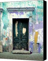 Portal Canvas Prints - Old Door 4 by Darian Day Canvas Print by Olden Mexico