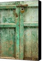 Arabic Canvas Prints - Old Door Canvas Print by Adam Romanowicz