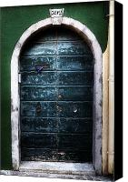 Old Wall Canvas Prints - Old Door Canvas Print by Joana Kruse