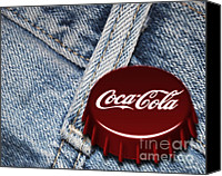 Blue Jeans Canvas Prints - Old Favorites Canvas Print by Cheryl Young