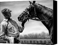 Pdjf Canvas Prints - Old Friends Canvas Print by Thomas Allen Pauly