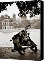 Vietnam Canvas Prints - Old Honda Canvas Print by David Bowman