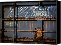 Boxcar Canvas Prints - Old Railroad Boxcar  Canvas Print by Bob Orsillo