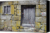 Ancient Canvas Prints - Old Rural House Canvas Print by Carlos Caetano