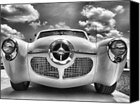 Featured Special Promotions - Old School Car Canvas Print by Anthony Walker Sr