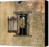 Run Down Canvas Prints - Old shack Canvas Print by Bernard Jaubert