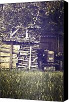 Shed Canvas Prints - Old Shed Canvas Print by Joana Kruse