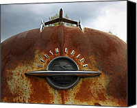 1949 Plymouth Canvas Prints - Oldsmobile Canvas Print by Steve McKinzie