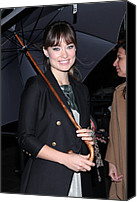 Half-length Canvas Prints - Olivia Wilde In Attendance Canvas Print by Everett