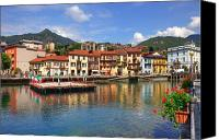 Lago Canvas Prints - Omegna - Lago dOrta Canvas Print by Joana Kruse