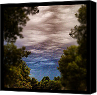Instagram Canvas Prints - Ominous Sky #instagram #clouds #sky Canvas Print by Adam Romanowicz