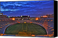 Florida State Canvas Prints - Ominous Stadium Canvas Print by Alex Owen
