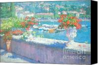 Plein Canvas Prints - On A Morning in August Canvas Print by Jerry Fresia