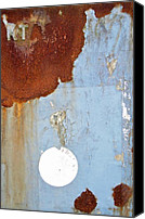 Abstract Map Photo Canvas Prints - On Stranger Shores Canvas Print by Odd Jeppesen