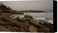 Shores Of Acadia Canvas Prints - On the Shore Canvas Print by Paul Mangold