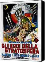 1956 Movies Canvas Prints - On The Threshold Of Space, Aka Gli Eroi Canvas Print by Everett