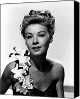 1949 Movies Canvas Prints - On The Town, Vera-ellen, 1949 Canvas Print by Everett