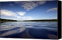 Camelot Canvas Prints - On the water Canvas Print by Gary Eason