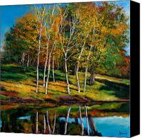 Giclee Trees Canvas Prints - Once in a Lifetime Canvas Print by Johnathan Harris