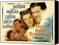 Posth Canvas Prints - One More Tomorrow, Jane Wyman, Jack Canvas Print by Everett