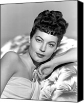 1948 Movies Canvas Prints - One Touch Of Venus, Ava Gardner, 1948 Canvas Print by Everett