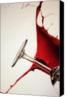 Spilled Wine Canvas Prints - Oooops Canvas Print by Mark Denham