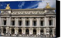 Travel Destination Canvas Prints - Opera Garnier. Paris. France Canvas Print by Bernard Jaubert