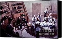 Medical School Canvas Prints - Operating Amphitheater, Administering Canvas Print by Science Source
