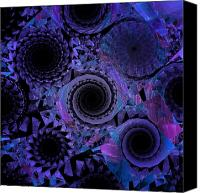 Future Tech Canvas Prints - Optical Illusion Canvas Print by Andee Photography