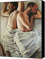 Emily Jones Canvas Prints - Origin of Love 1 Canvas Print by Emily Jones