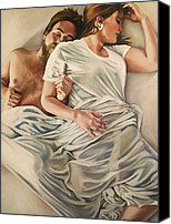 Emily Jones Canvas Prints - Origin of Love #4 Canvas Print by Emily Jones