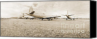 Regeneration Photo Canvas Prints - Orion P-3s AMARC - Tucson Canvas Print by Jan Faul